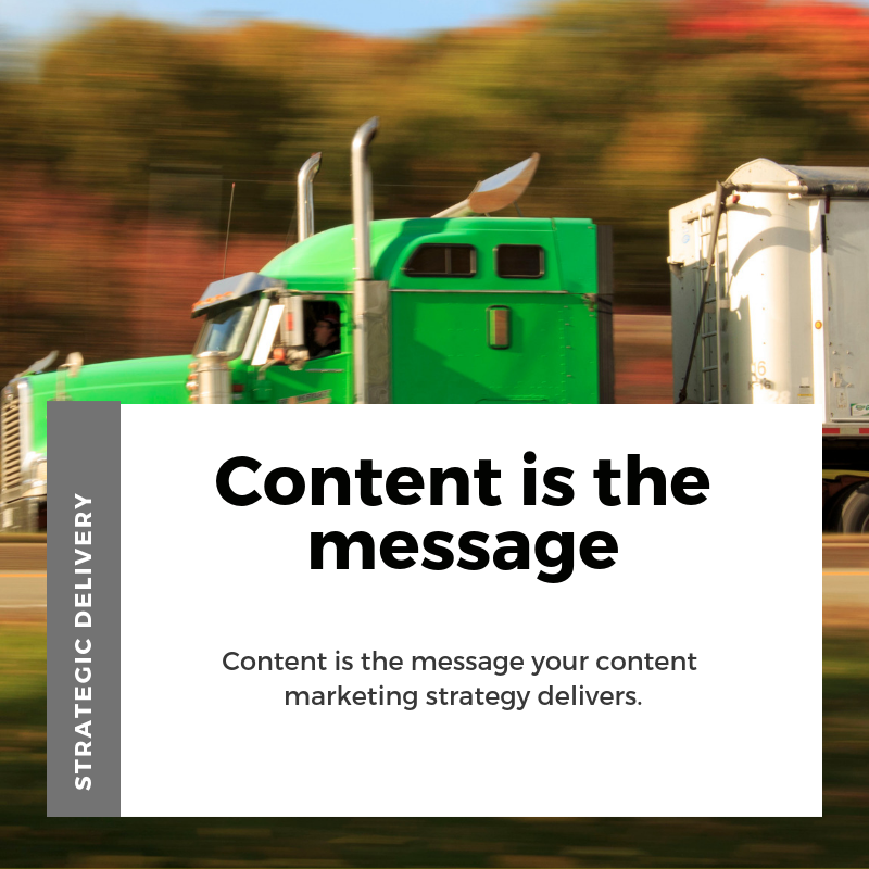 Content Marketing strategically delivers results