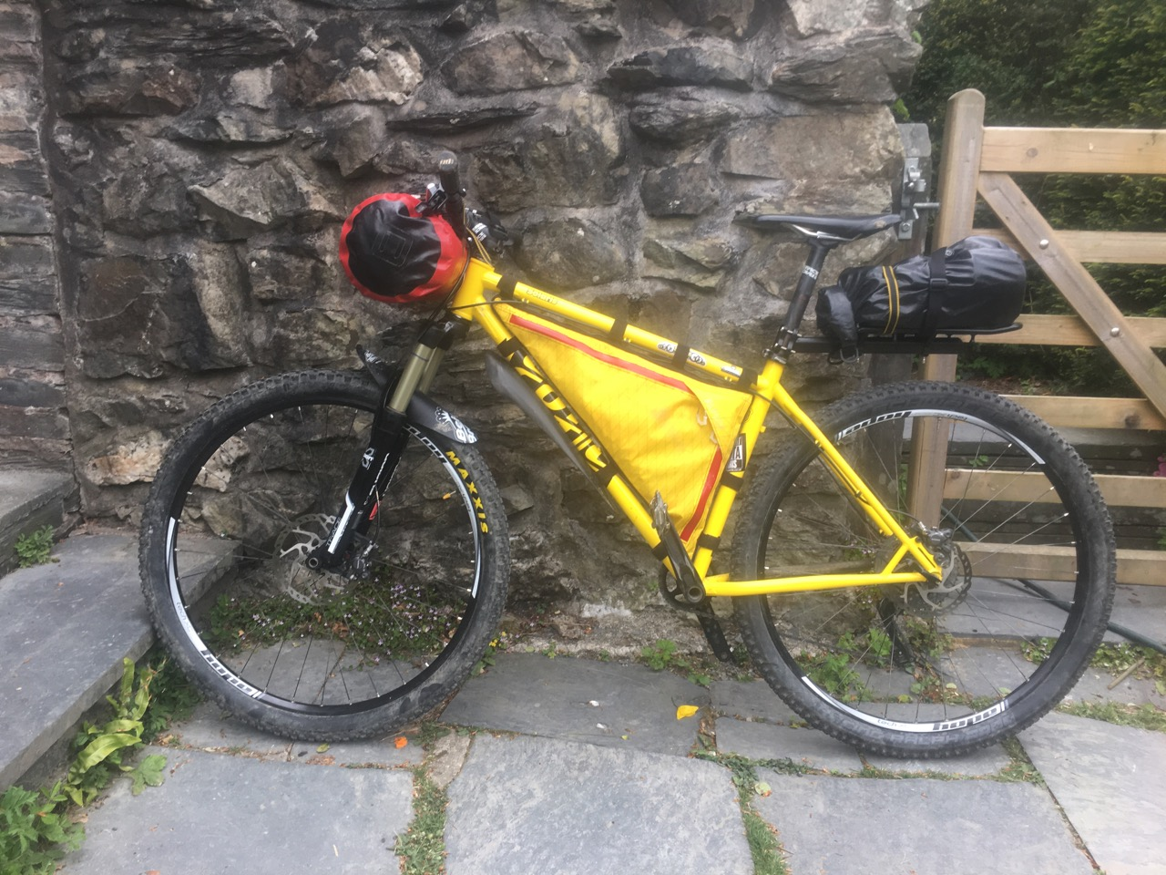 Not Enduro - The Solaris ready for the Trans Cambrian Way