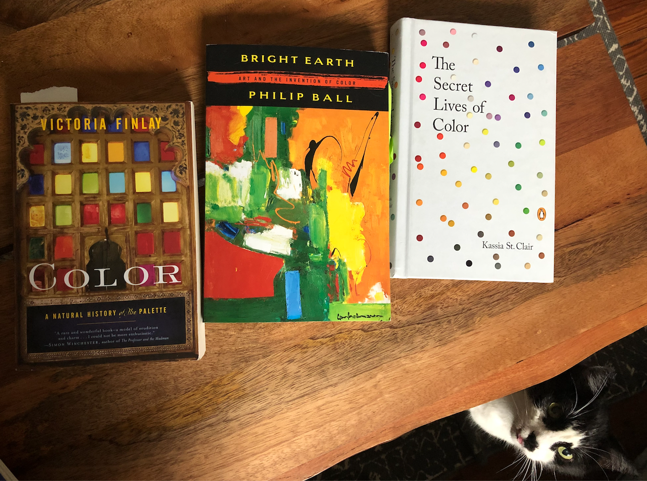 books about the history of color