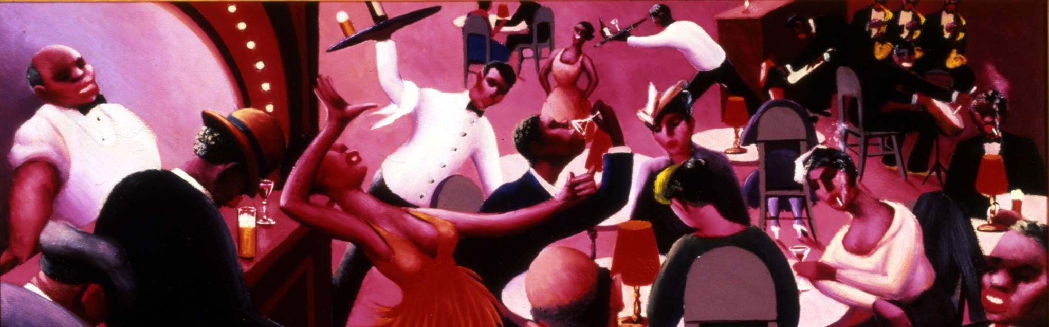 Saturday Night  (1935) by Archibald Motley