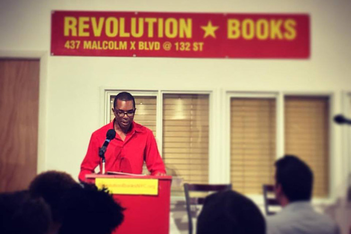 Reading at City College of New York MFA Reading Series on September 24, 2016 @ Revolution Books