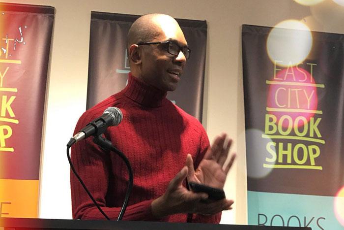 At East City Books, Washington DC, February 10, 2017