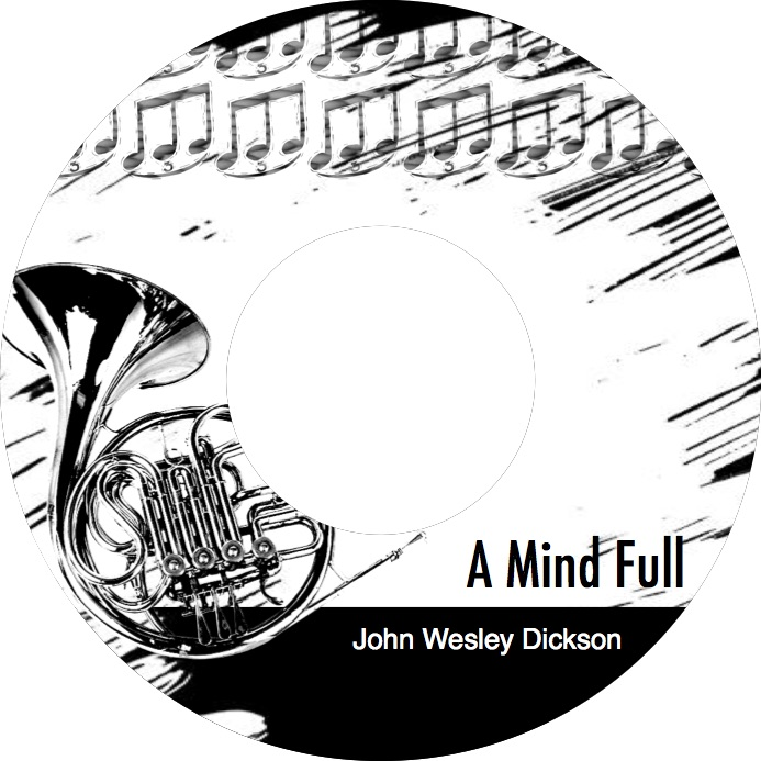 'A Mind Full' now available on Amazon, iTunes, and CD Baby. Original upbeat jazz instruments featuring guitar, horns, bass and drums.