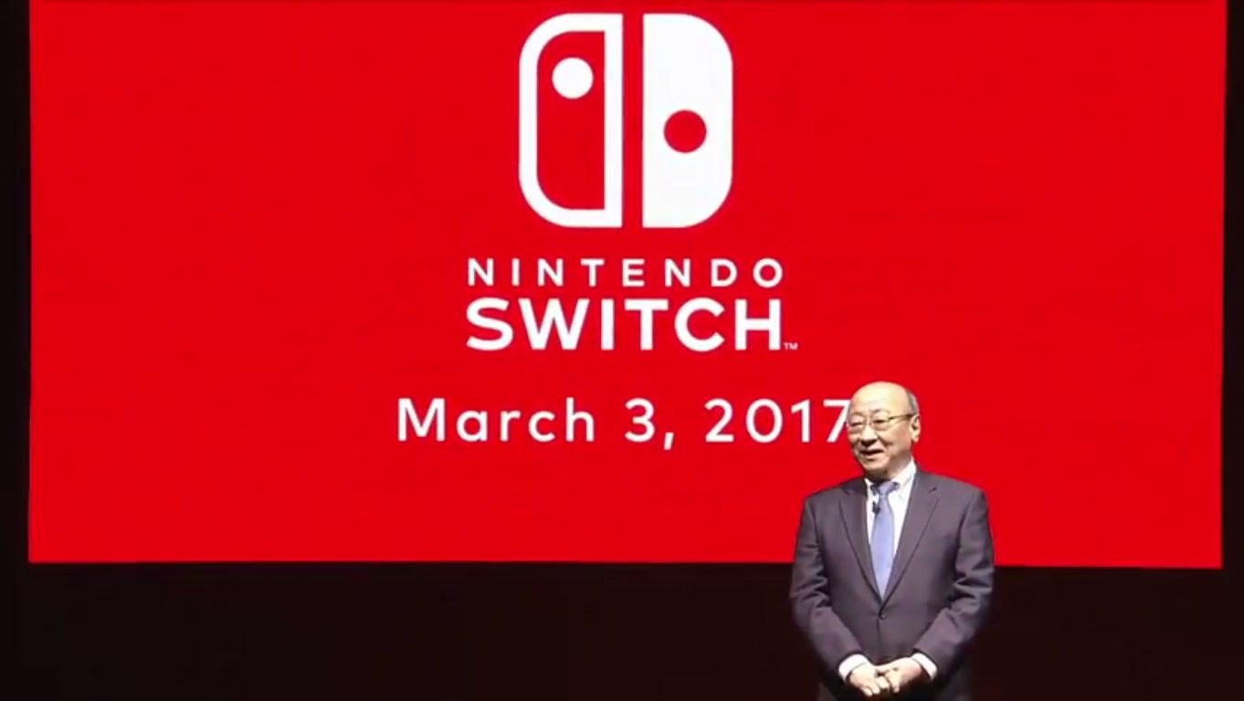Nintendo Switch press event