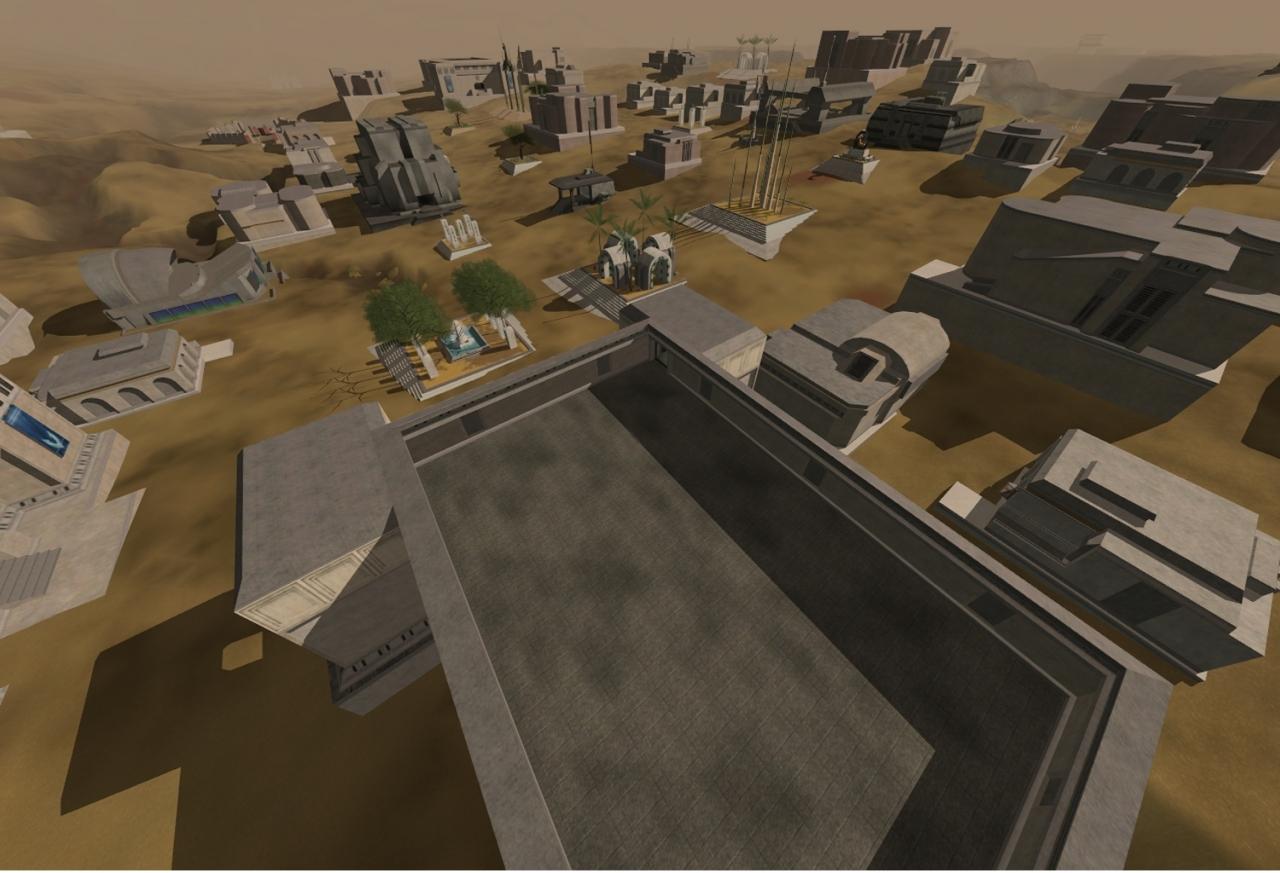 A player-made city
