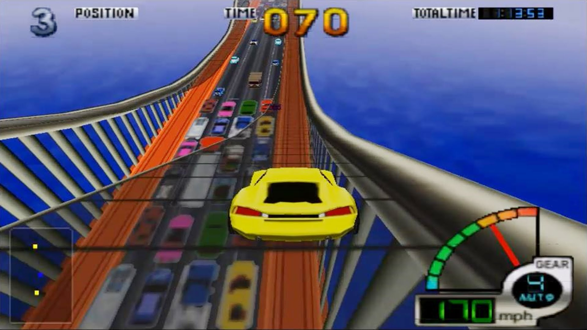 To be fair, this is the quickest way to get across the bridge at rush hour.