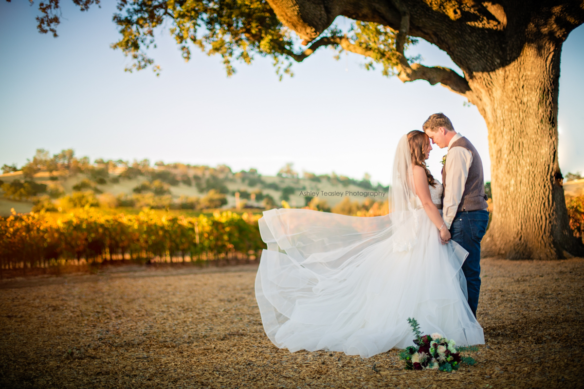 Kaleigh & Chris - Rancho Victoria Vineyards - Sacramento Wedding Photographer - Ashley Teasley Photography --30.JPG