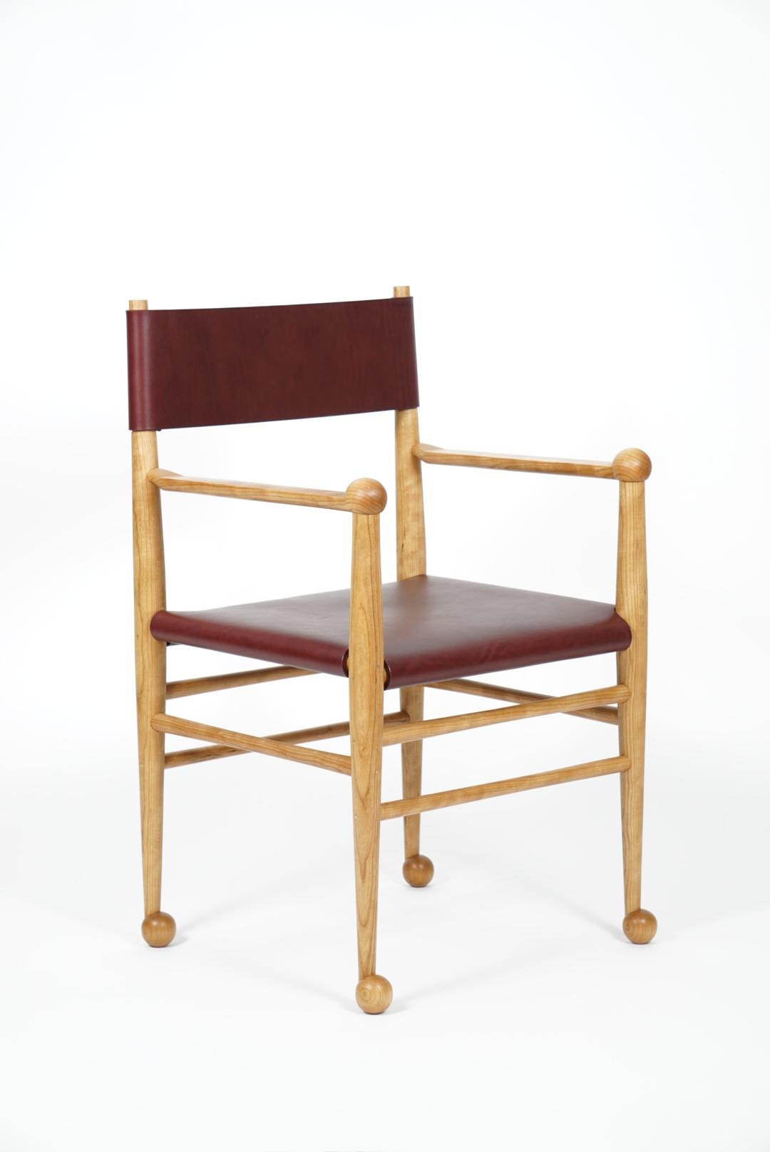 Ball Foot Chair