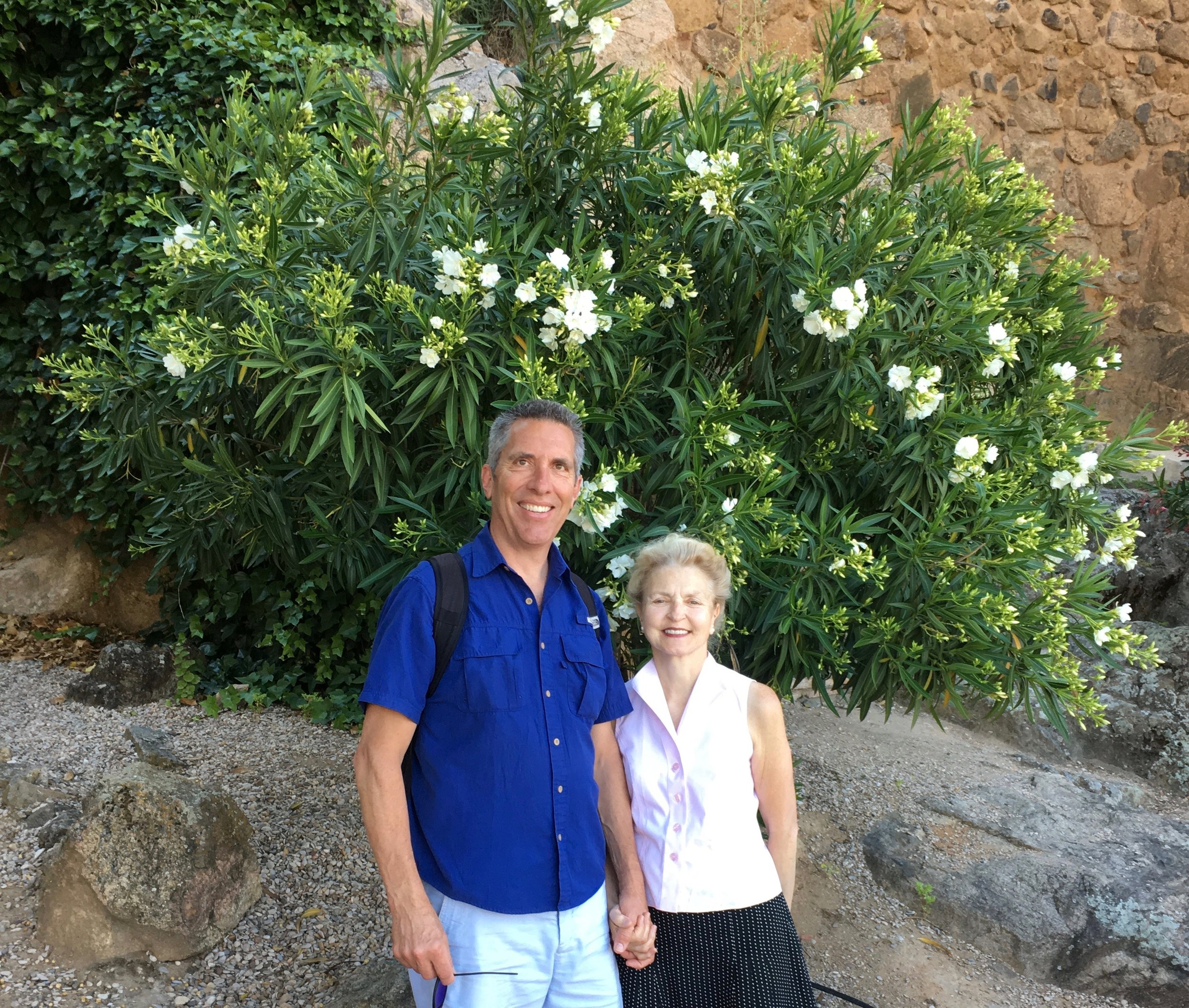 Hi! We're Arlette and Steve, owners of Adventures to Europe and your expert guides.