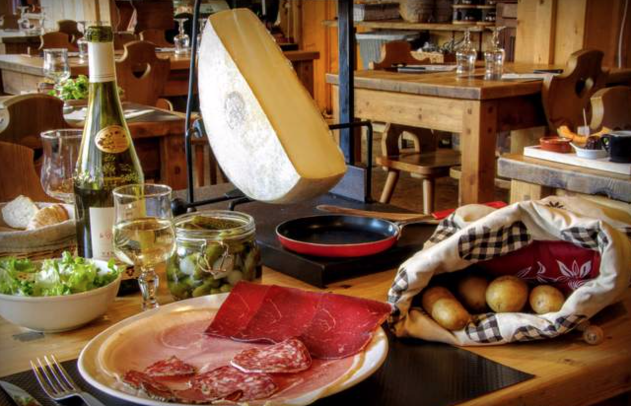 Raclette: a mountain meal