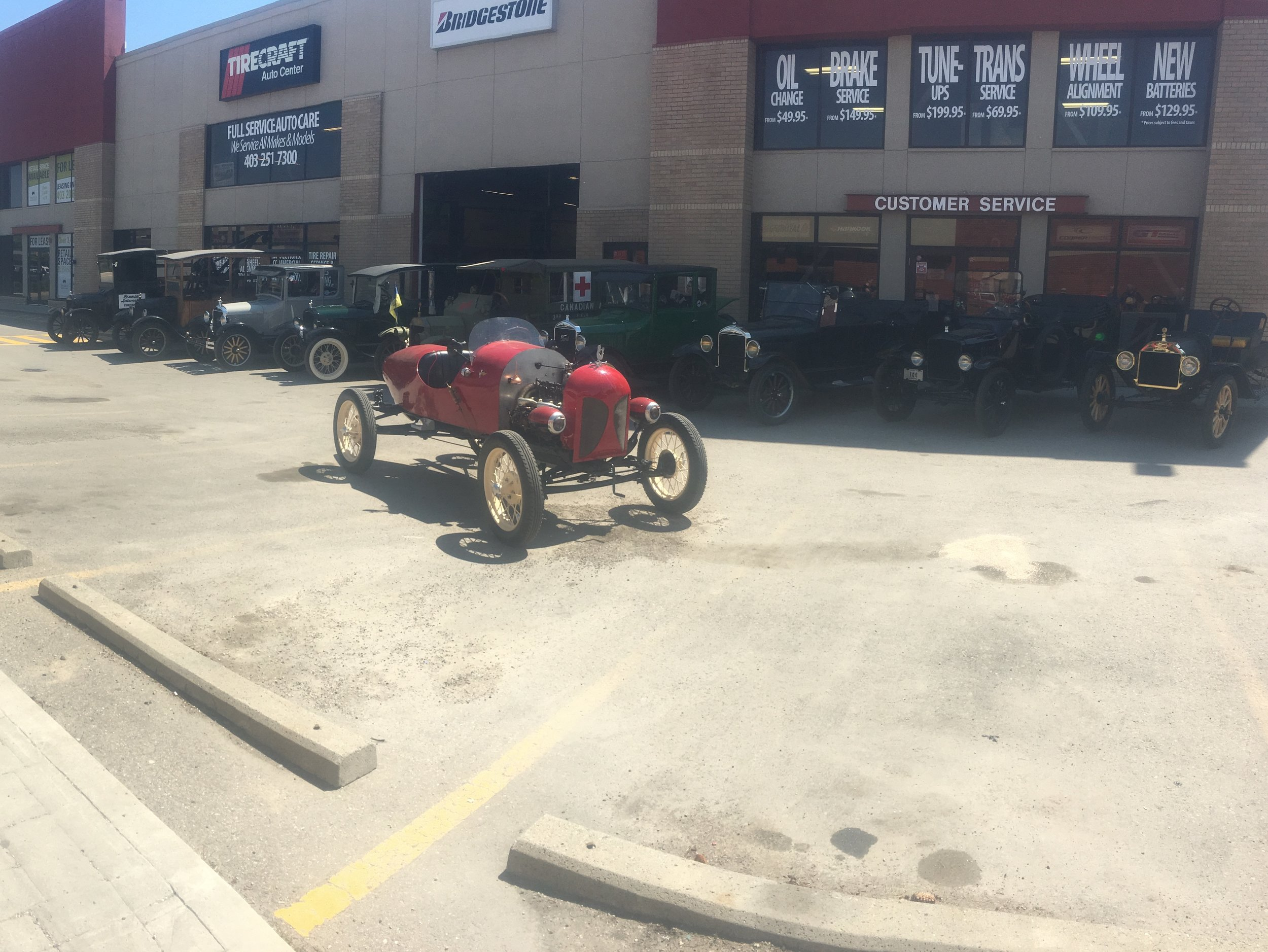 Model T Inspection Day
