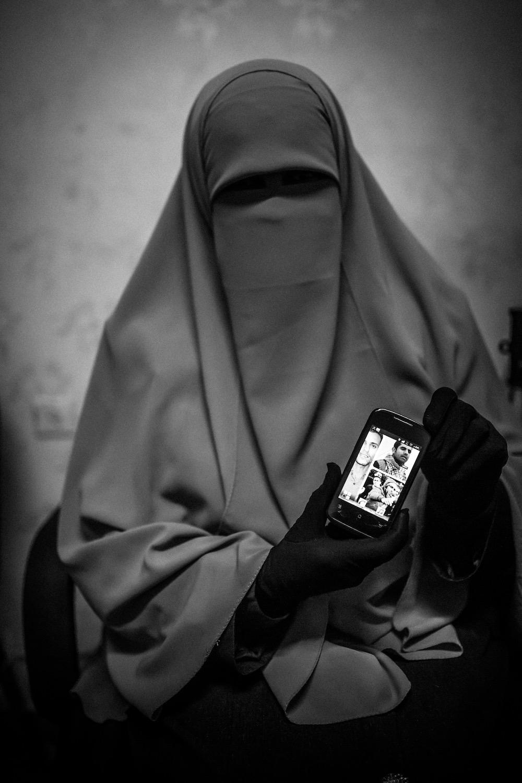 Egypt.  Mother of Political prisoners