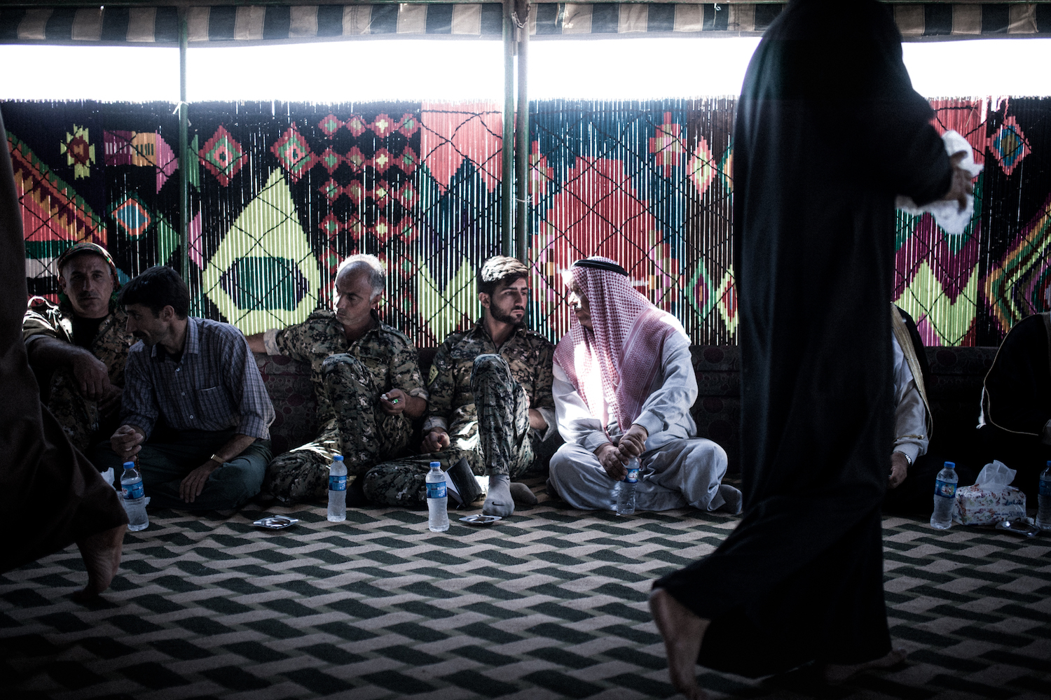 The SDF tries to win over local Arab tribes