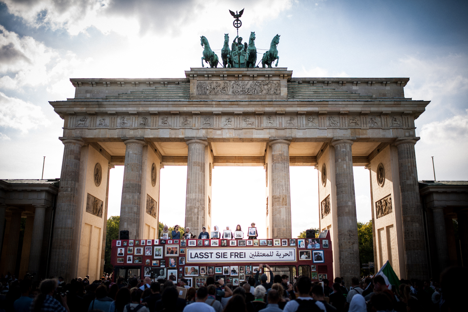 Germany.  The Syrian regime is responsible for the forced disappearance of approx. 85,000 people. In Berlin, relatives of the victims demand their release.