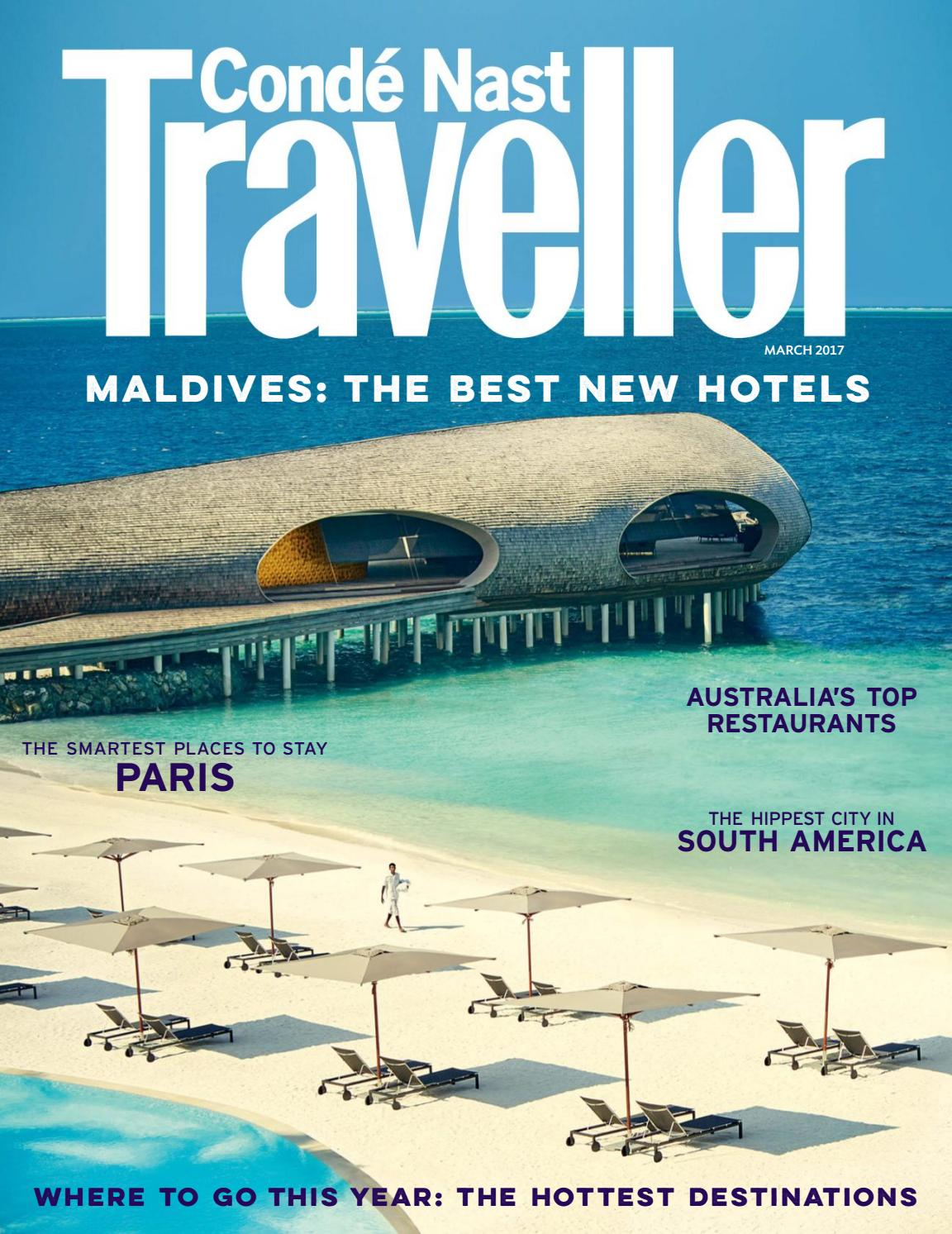 Conde Nast Traveller UK, Feb 2017