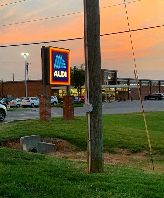 South Carolina sunset from @jordan4294 #aldisunsets  09.12.19