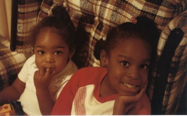Me and my little Sister, Victoria (circa 1986)