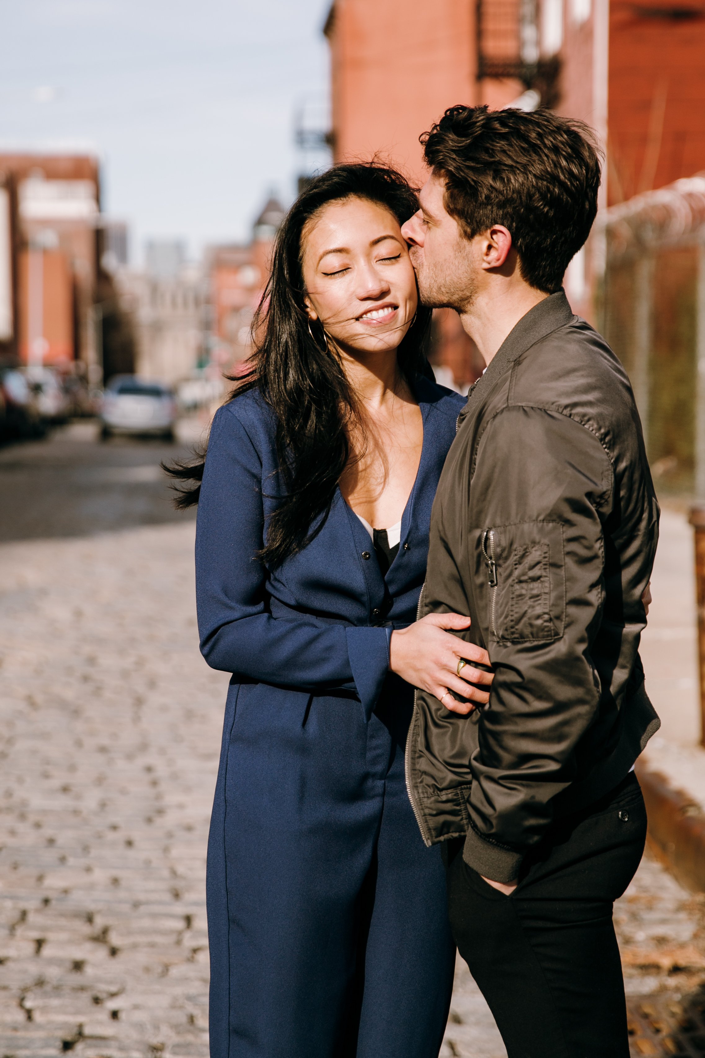 Brookyln engagement photographer, New York engagement photographer, NYC engagement photographer, Brooklyn Bridge engagement session, Brooklyn Bridge, NYC engagement session, DUMBO engagement session