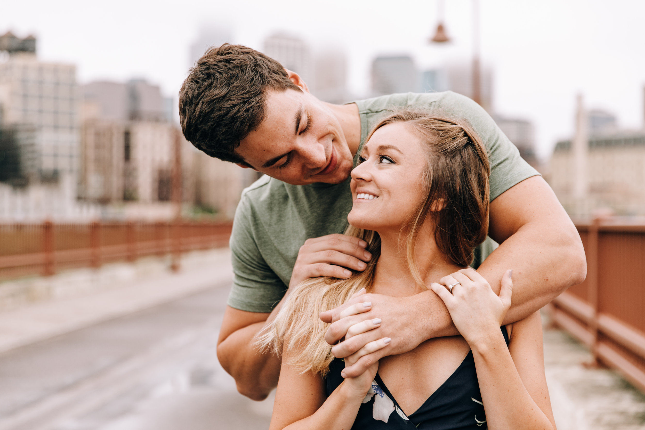 Minneapolis engagement photographer, Minneapolis engagement session, downtown Minneapolis, Minnesota engagement session, Minnesota engagement photographer, engagement session in Minneapolis