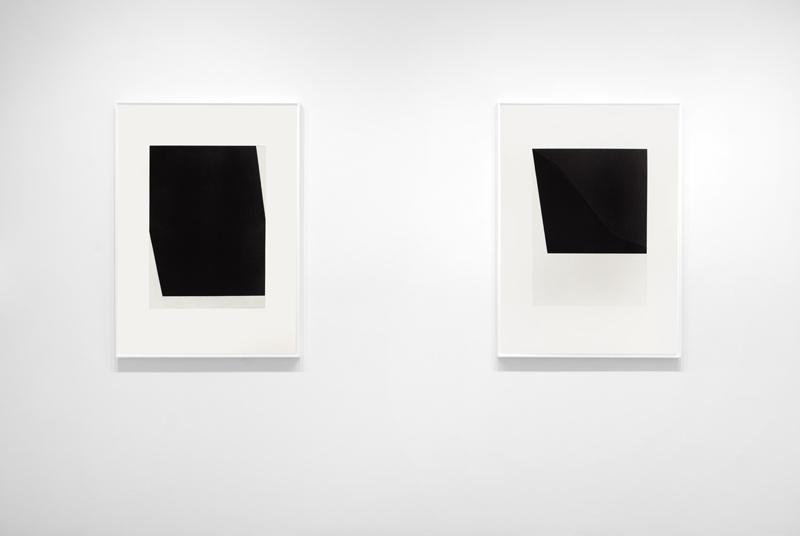 Above: Installation view,  Ellsworth Kelly: Prints 1949 - 1989 , Upsilon Gallery, New York, 2016.