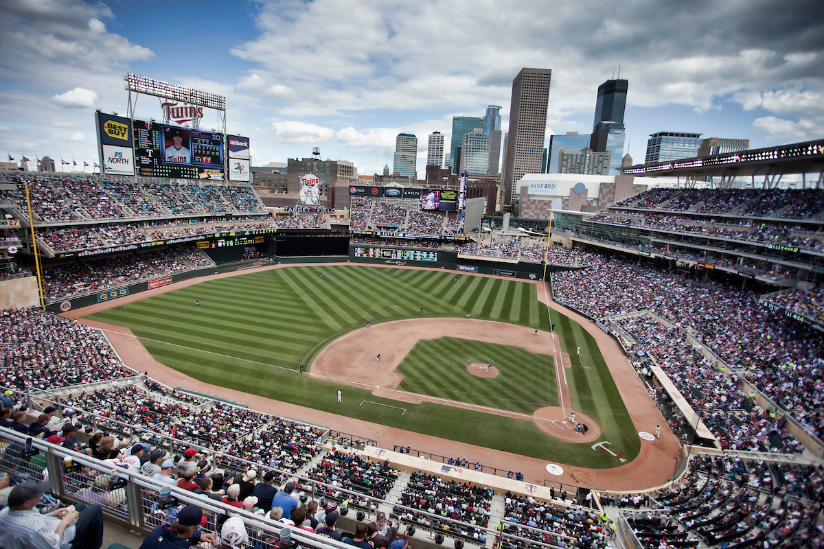Target Field - Photo by Bruce Kluckhohn:MN Twins.jpg