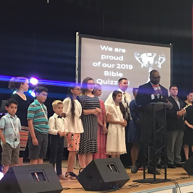 PACKED Sunday of CELEBRATION 🎉🎉 From honoring our 2019 Bible Quizzers to a beautiful baby dedication and ending with one baptized in Jesus Name!  #WeLoveSundays #WeekendsatNova #thenovachurch #dcmetro #alexandria #babydedication #biblequizzing #unshakeable #baptisminjesusname