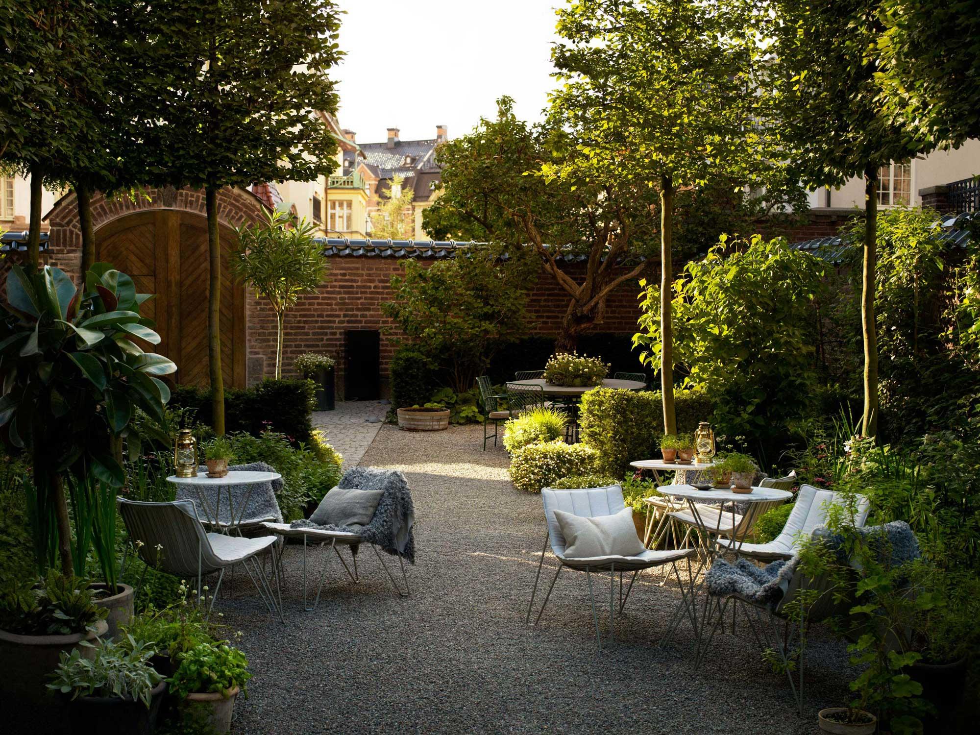 The garden at Ett Hem