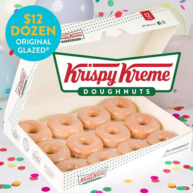 WHAT'S HAPPENING ON APRIL 12. A Krispy Kreme doughnut sale. $12 Original Glazed ® dozen! That's 12 doughnuts for only $12.  So visit us at Henry Deane Plaza on April 12 and enjoy! Terms and conditions www.krispykreme.com.au/offers. #krispykreme #doughnuts #henrydeaneplaza