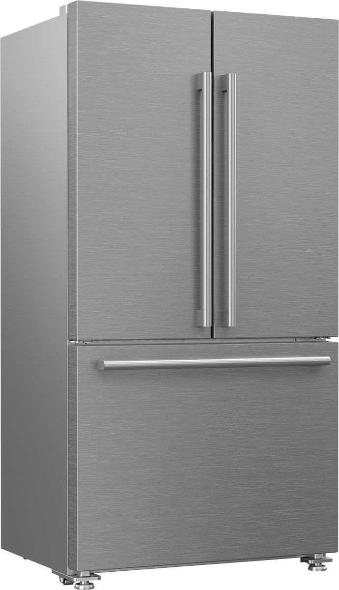 "BLOMBERG FRIDGE - 36"" SS REFRIGERATORwith bottom freezer & ice(70 3/4""h x 36""w)"