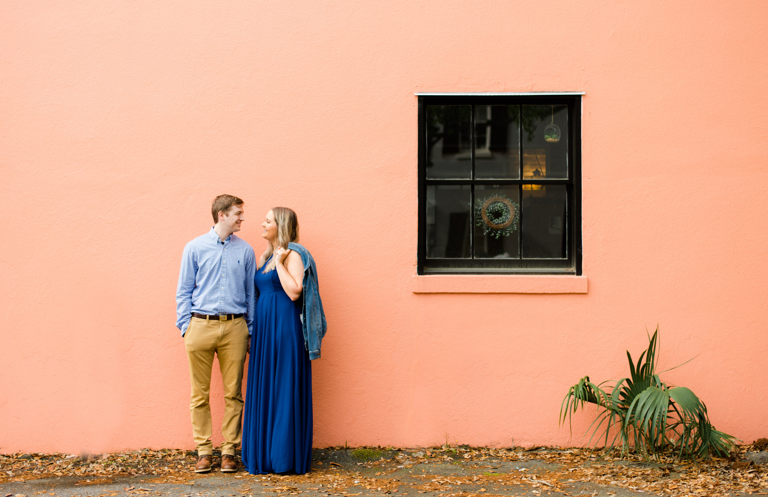 DOWNTOWN CHARLESTON ENGAGEMENT SESSION
