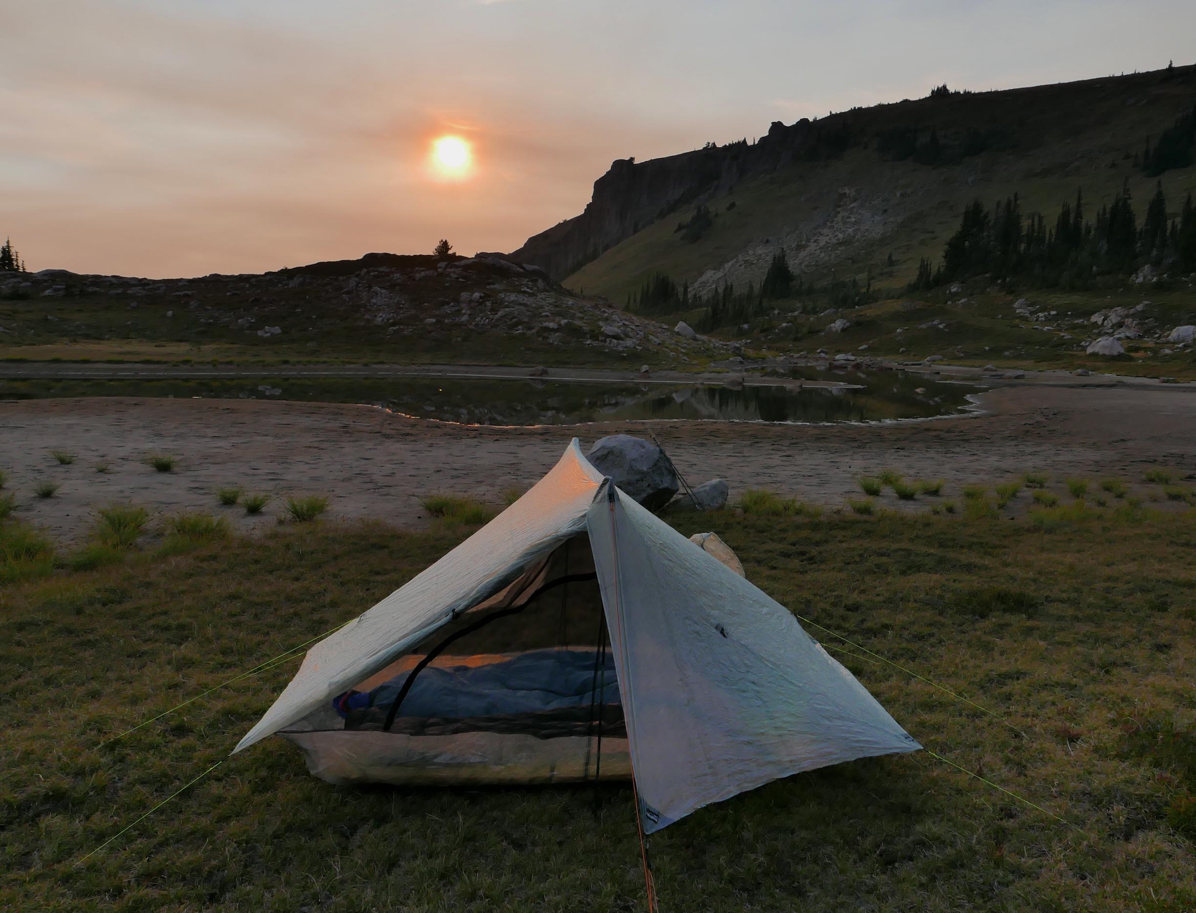 campsite near Windy Gap