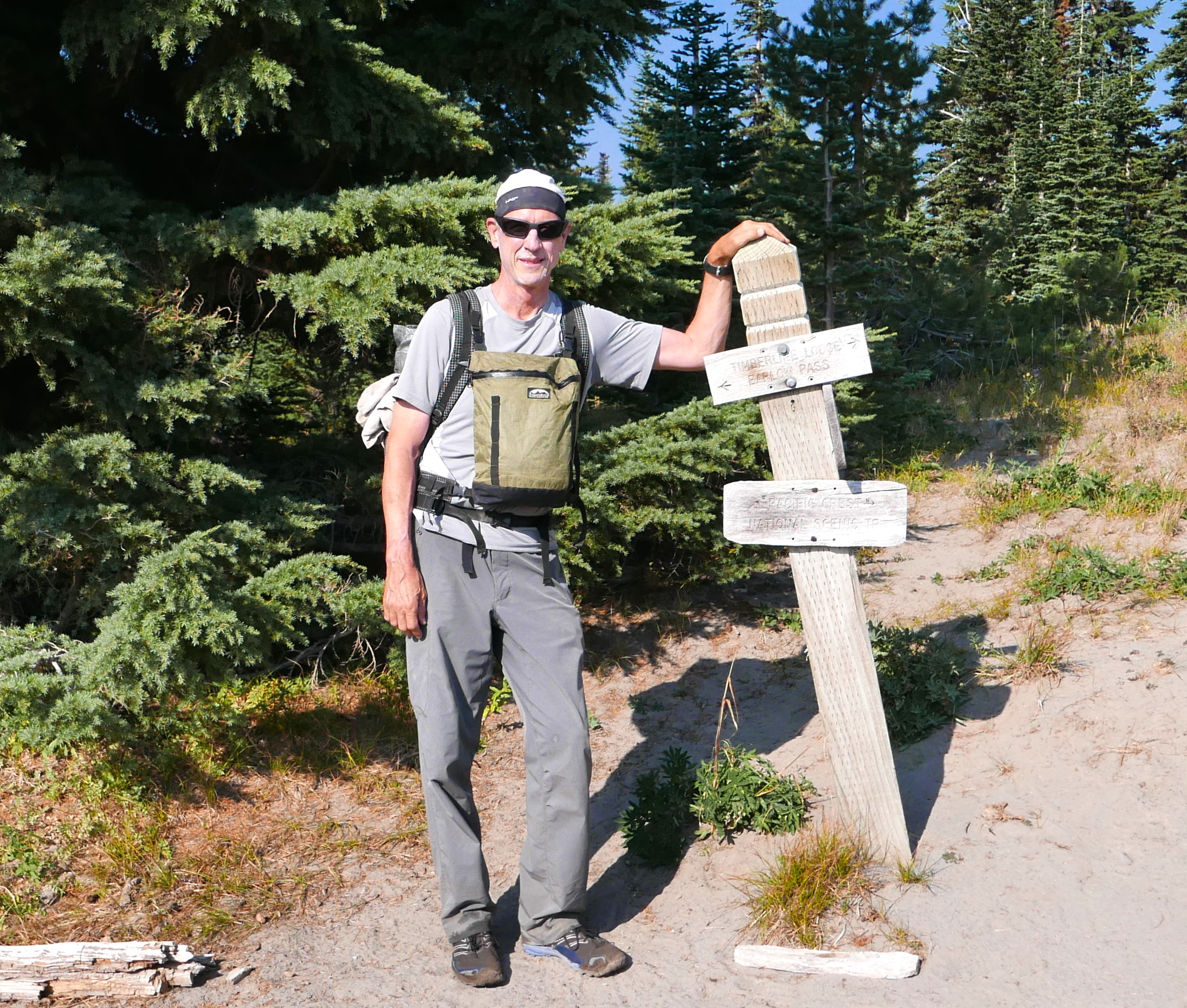 Zimmerbuilt packs on the Timberline Trail