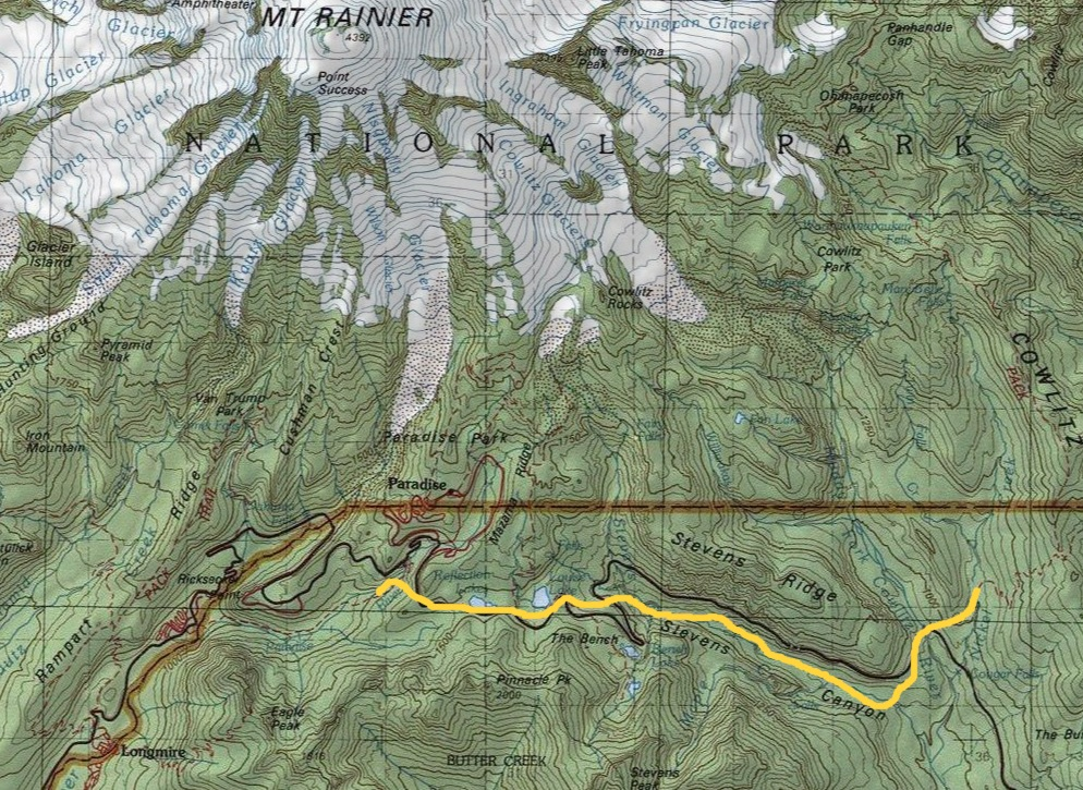trail covered on August 2-3