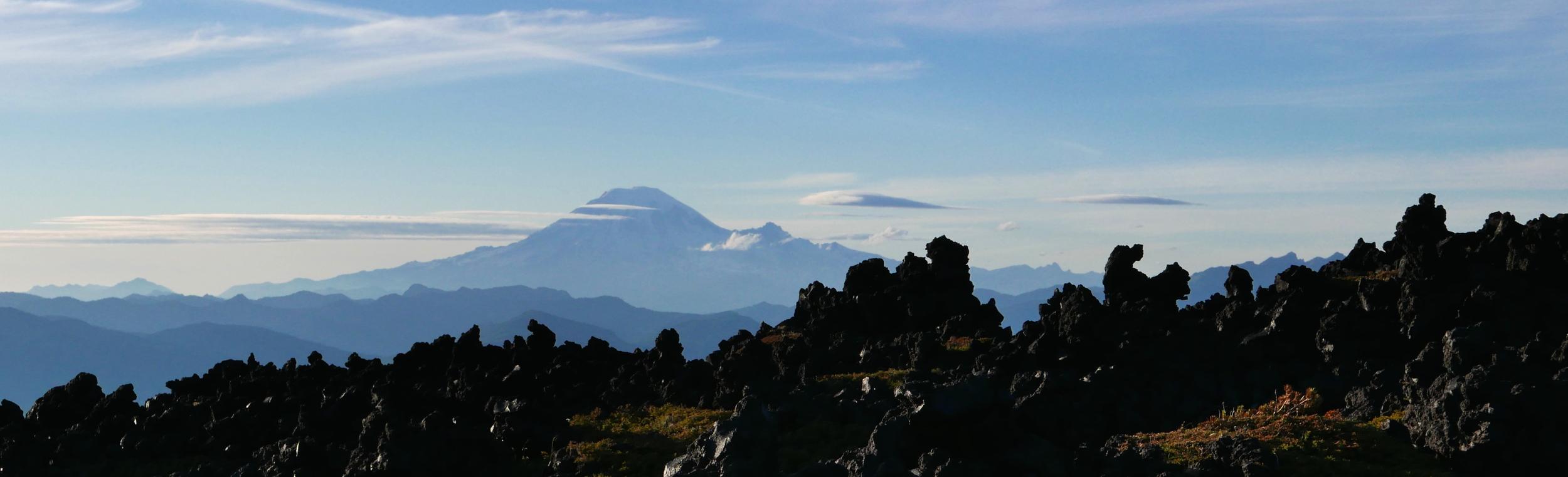 wild horizon: Devil's Garden, Mt. Adams