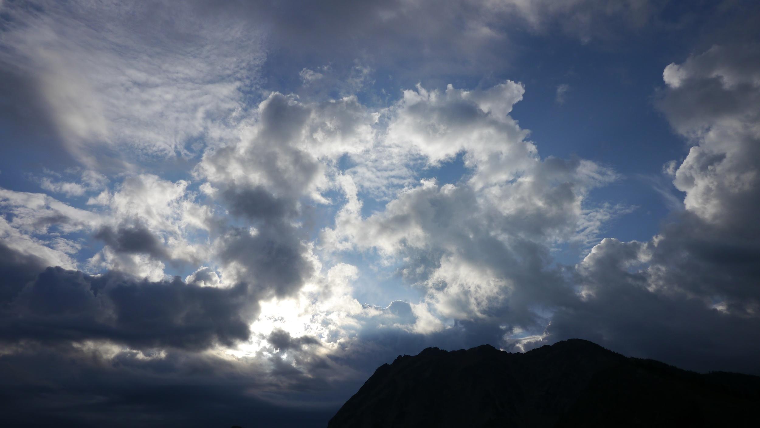 daybreak at Rock Pass
