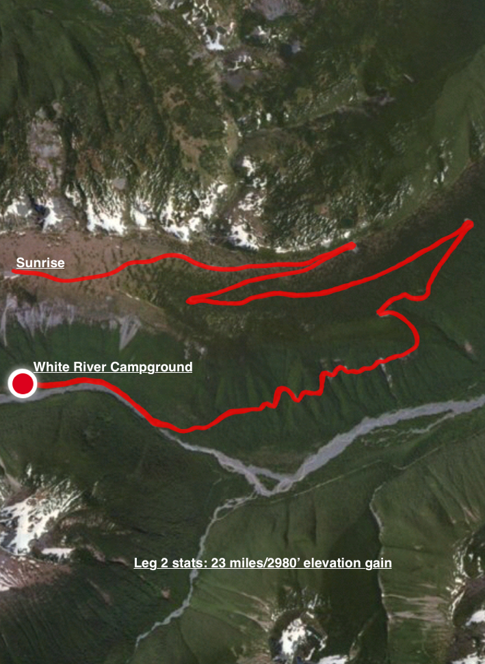 Salsa Cutthroat Shakedown Leg 2: Classic Sunrise climb
