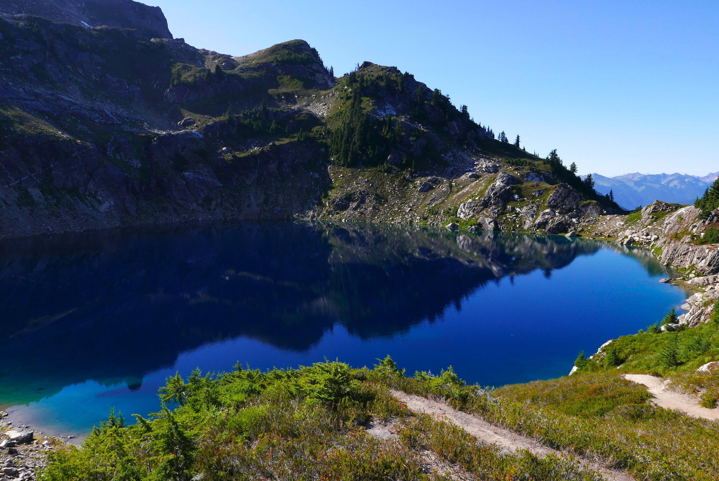 Mica Lake (5400')