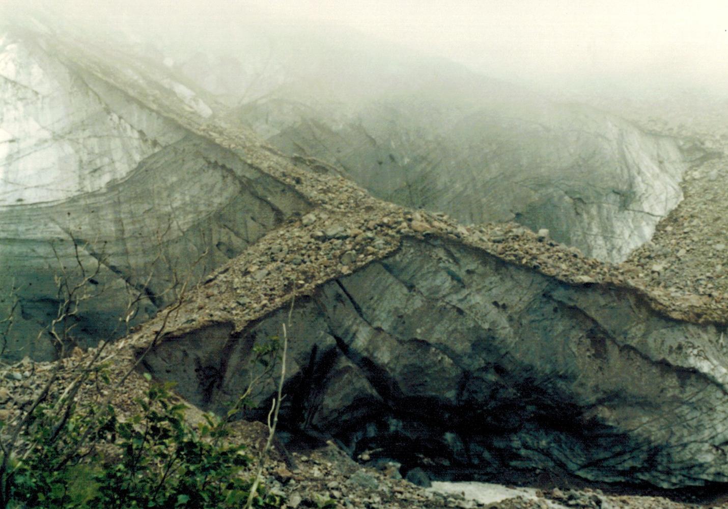 Winthrop Glacier, August 1987