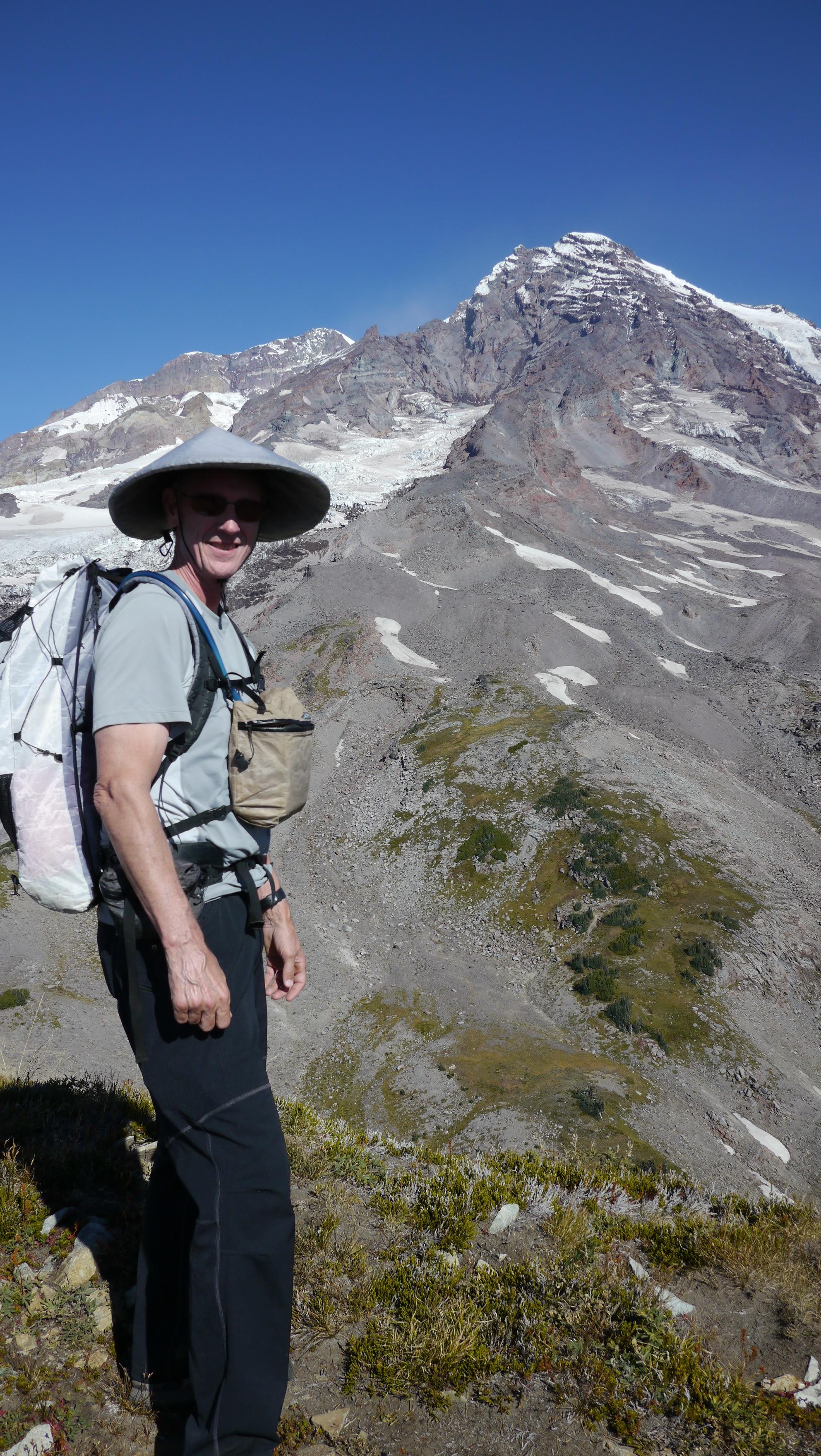 Brokk pants on Pyramid Peak
