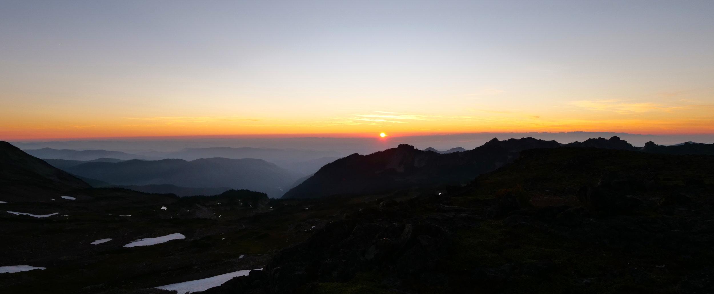 Sunset at 6700'