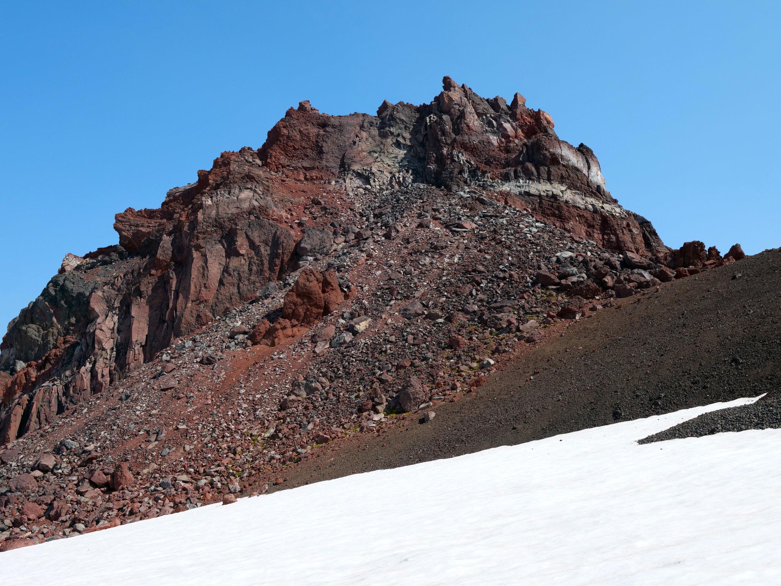 Echo Rock (7871') from the Flett glacier