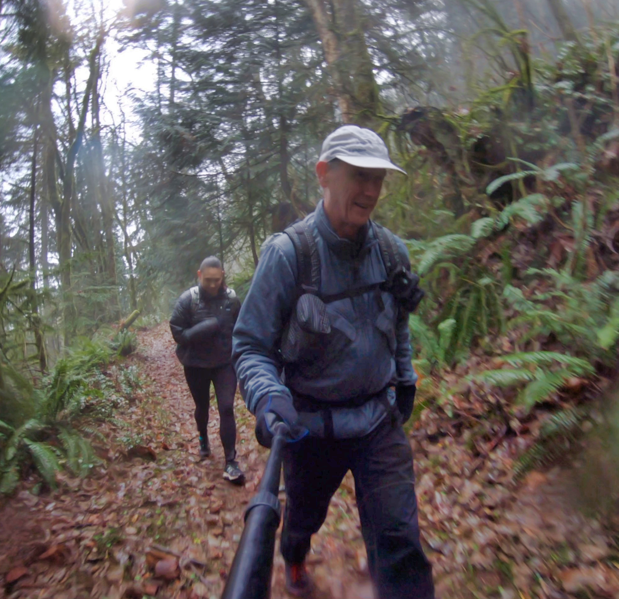 Beyond Polartech Alpha jacket on 19 mile hike with 3600' of climb, stayed on whole hike (low 40's)