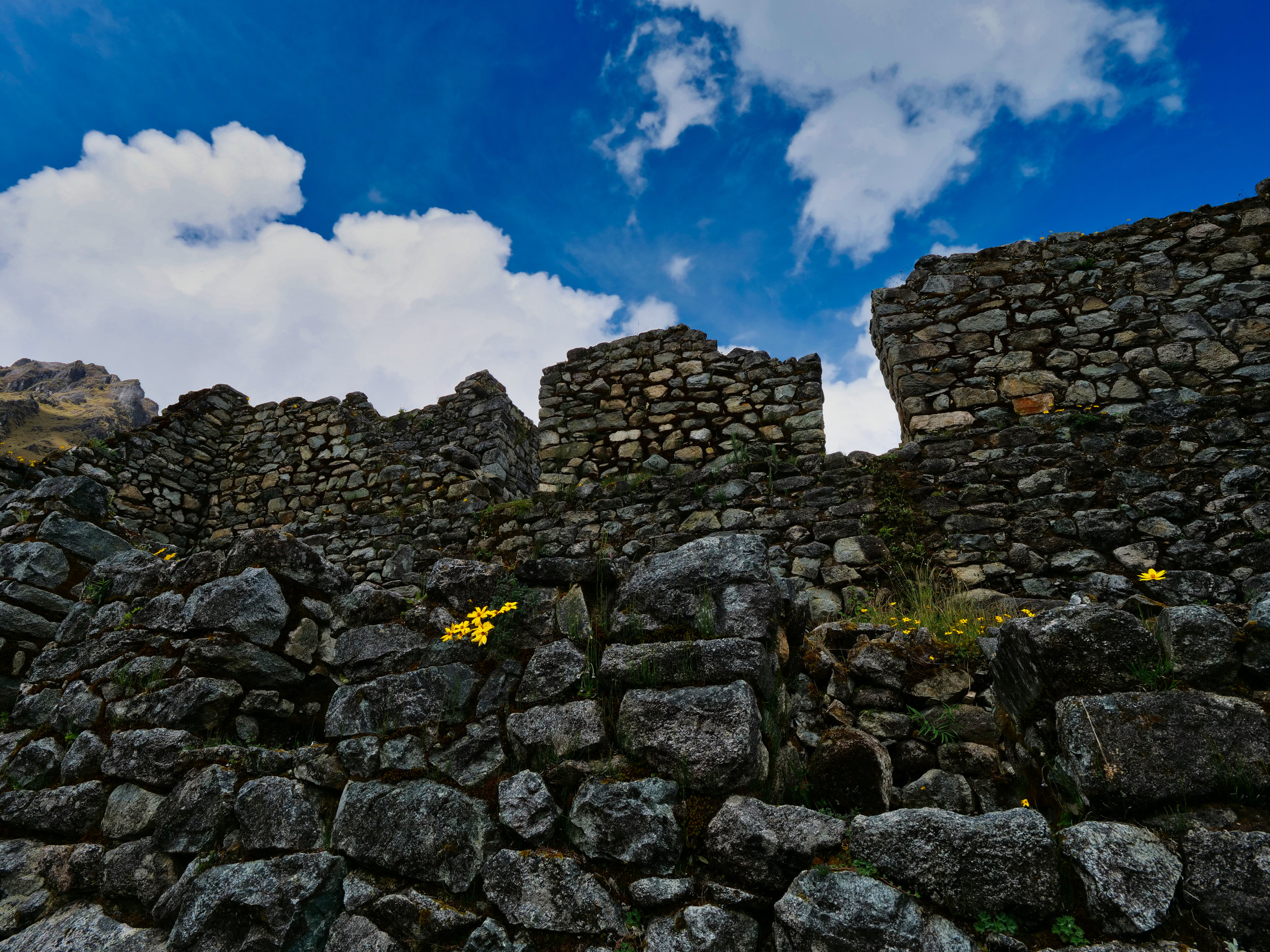 Sayaqmarka, just one of the incredible sites to explore on the Inca Trail
