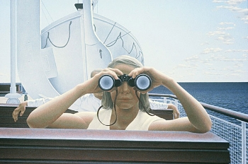 To Prince Edward Island 1965 by Alex Colville