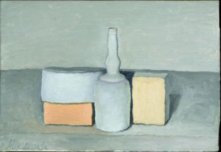 Still Life 1955 oil on canvas by Giorgio Morandi