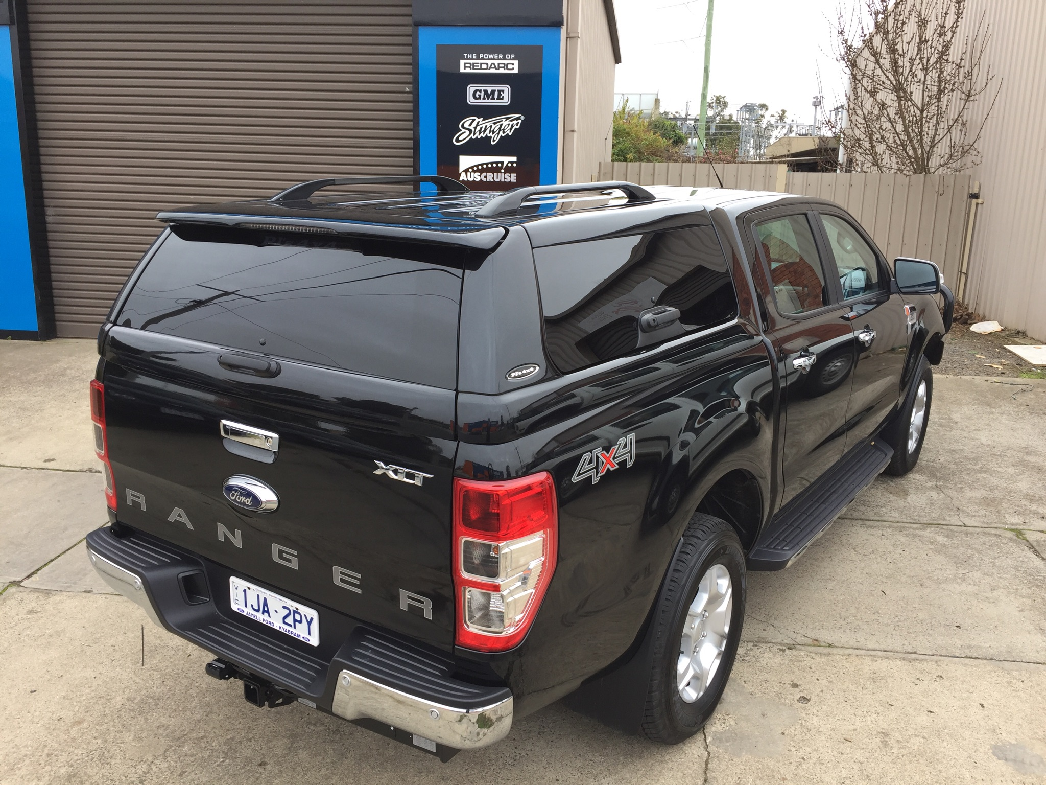 Shadow Black Ford Ranger
