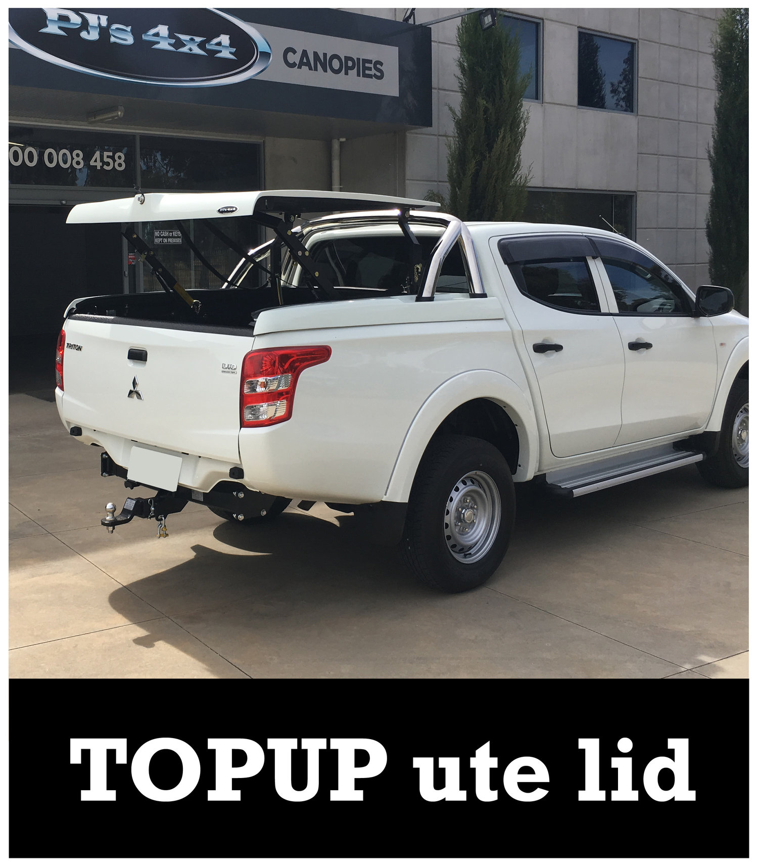 Mitsubishi Triton Canopy | Sports Lid | UTE Lids