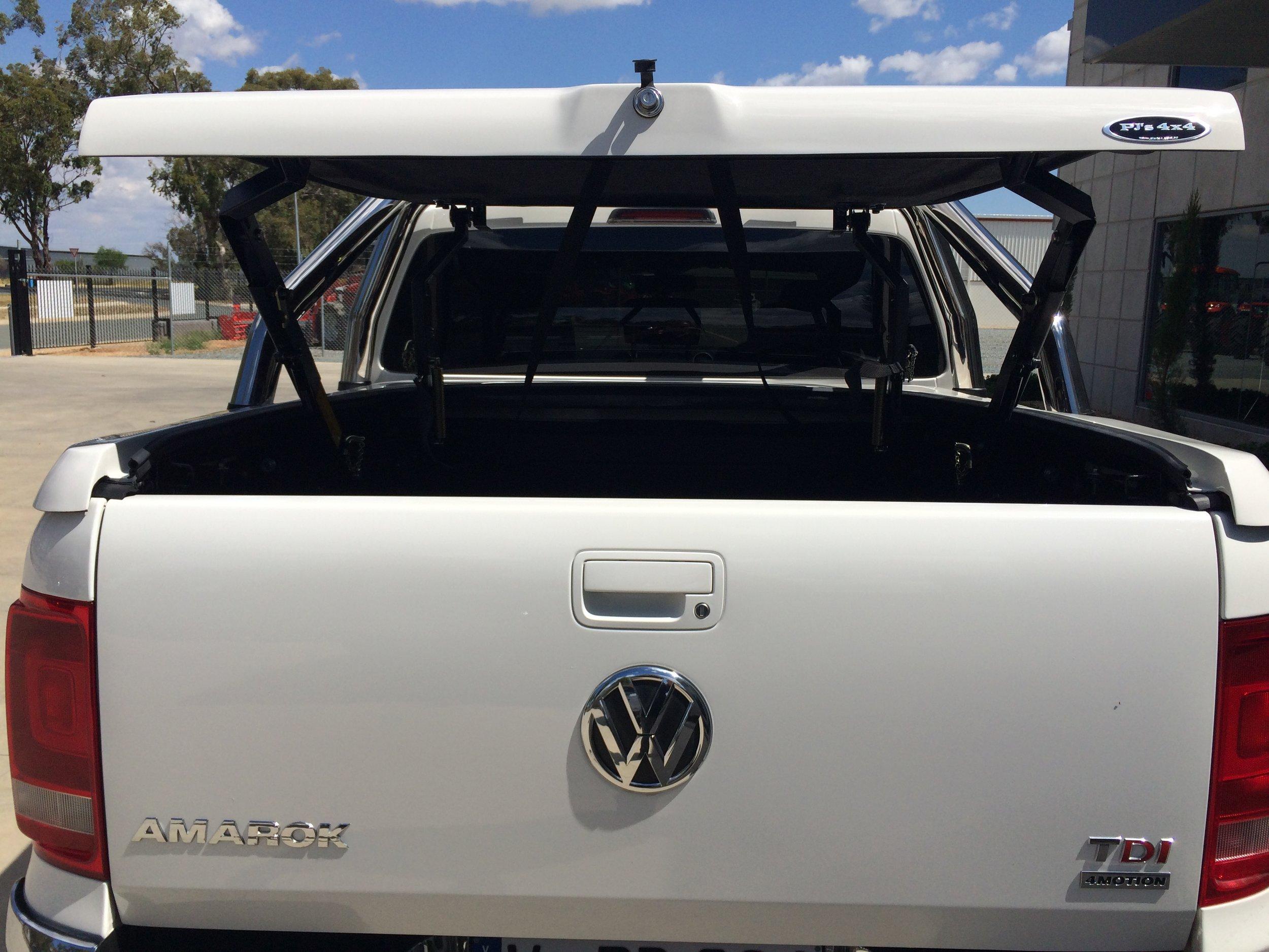 VW Amorok Top Up with OEM Bars  23.JPG
