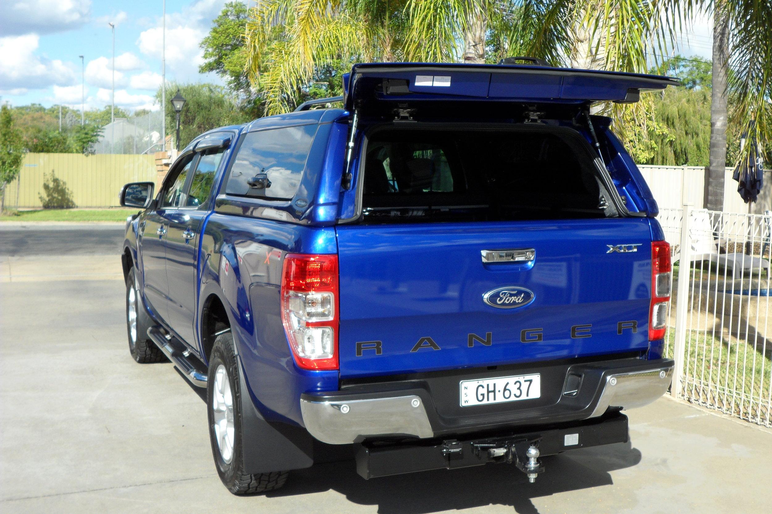 Ford Ranger Twentyten canopy Aurora Blue 6.JPG