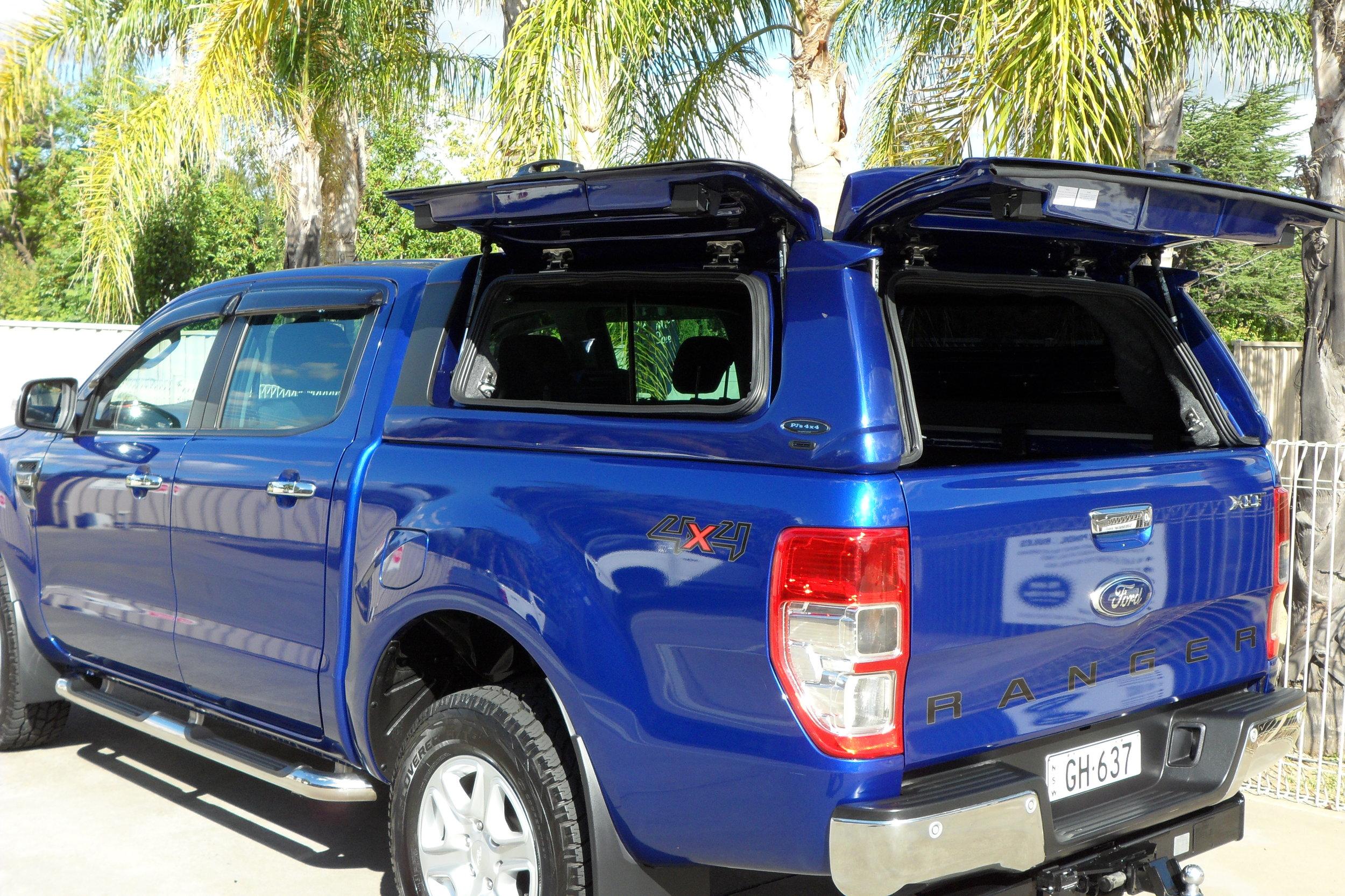 Ford Ranger Twentyten canopy Aurora Blue 9.JPG